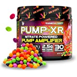 VMI Sports Pump-XR Nitric Oxide Boosting Pre Workout Powder, Intense Pumps, Vascularity and Strength, Stimulant Free, Rainbow
