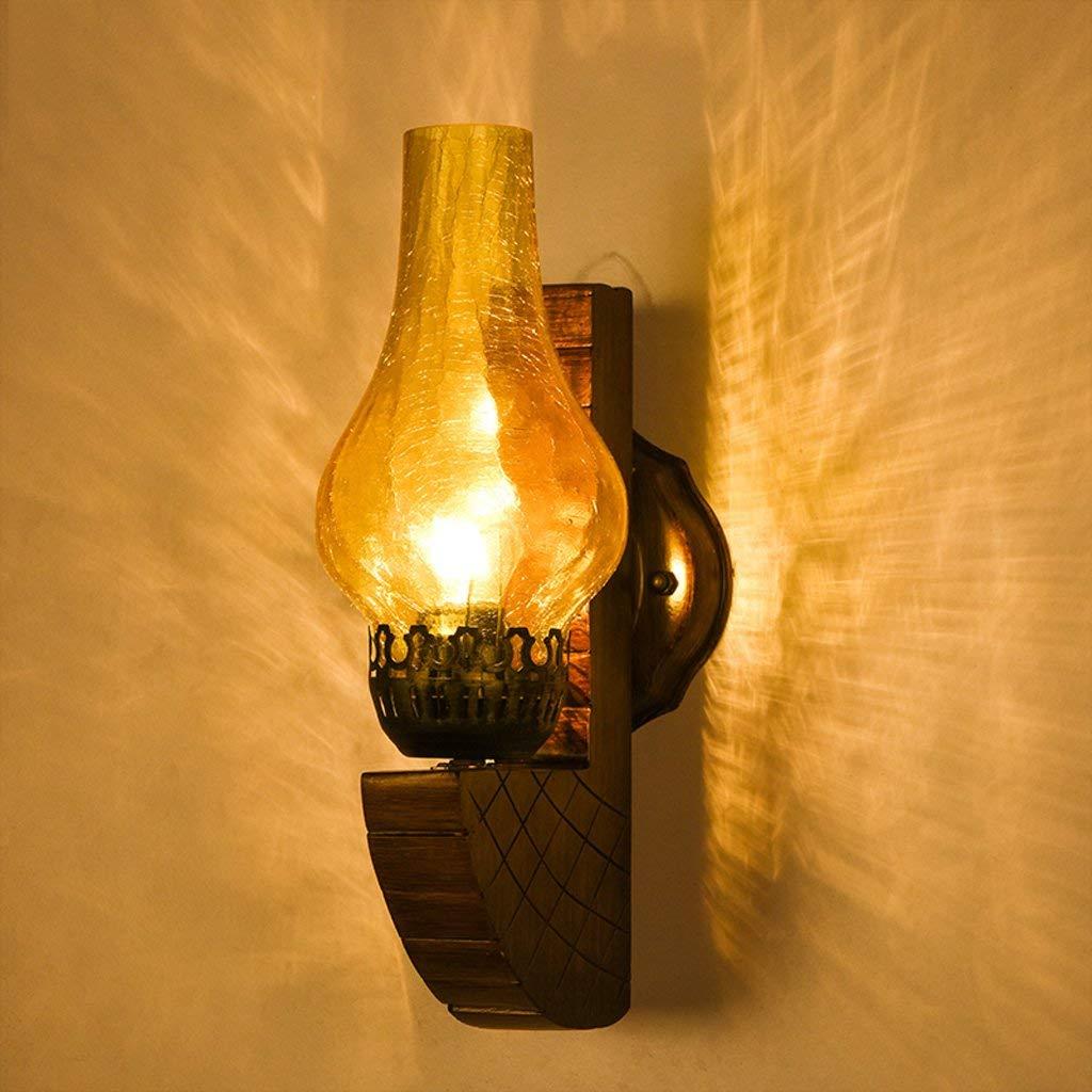 EMILF Home Kreative Gang Schlafzimmer Kreative Nacht Glas Wandleuchte Vintage Industrie Loft Bar Licht Wandleuchte