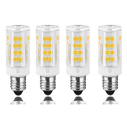 Nueva E11 Base Mini lámpara de 4,5 W, 45 W Equivalente ...