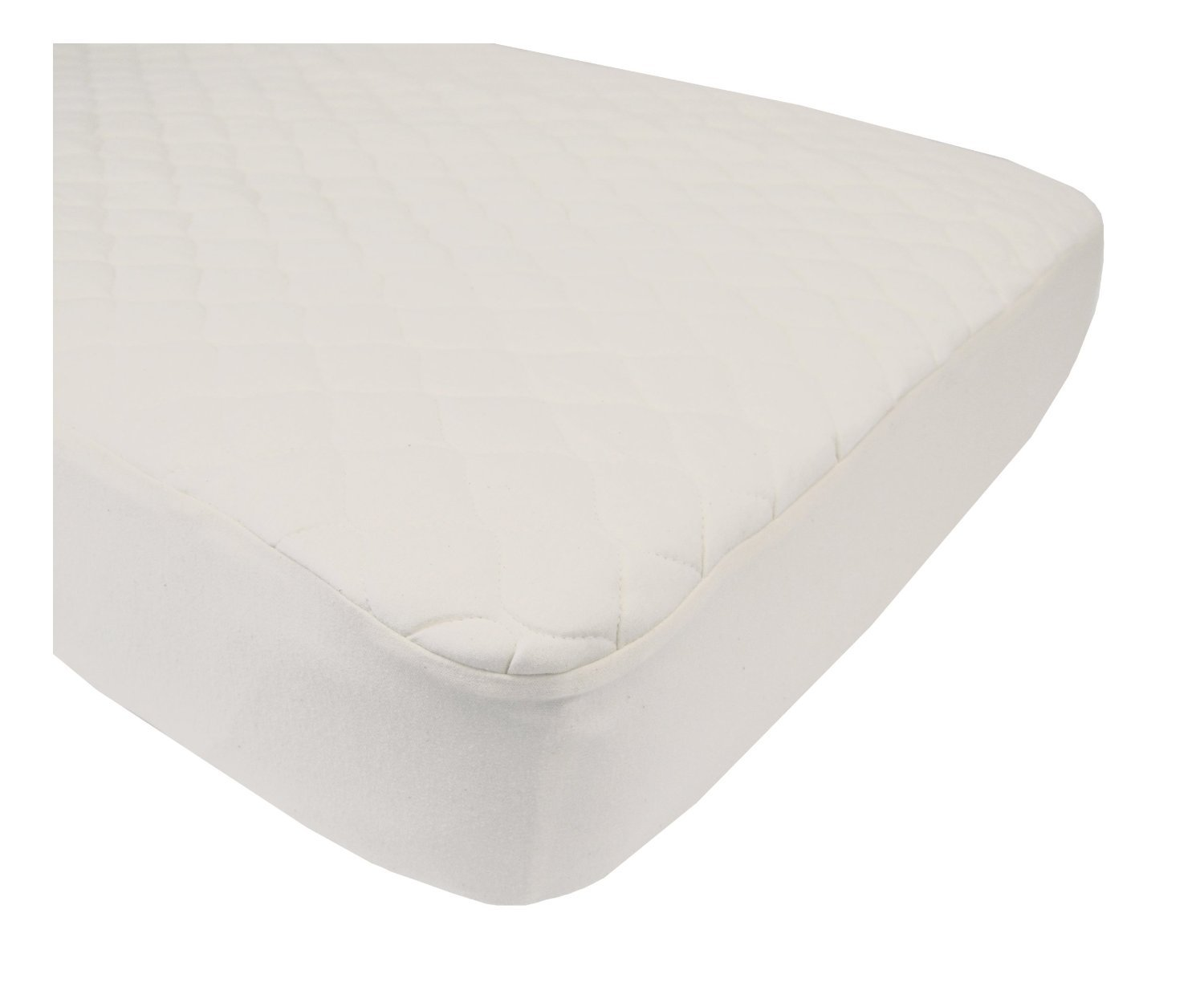 amazoncom american baby company organic cotton quilted crib u0026 toddler crib size fitted mattress pad covers natural 2 baby