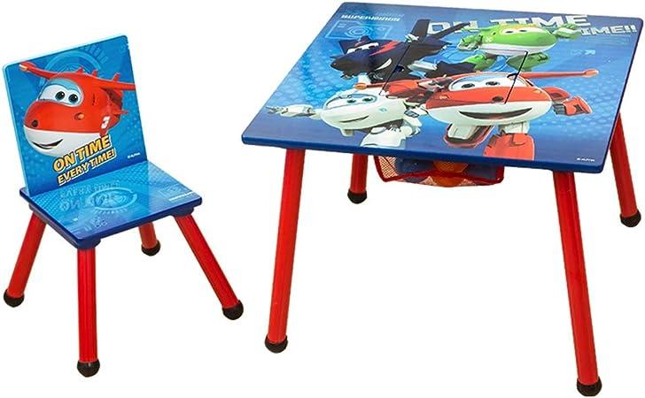 Juegos de mesas y sillas Mesa para Niños para Escritorio De Dibujos Animados Grueso Mesa De