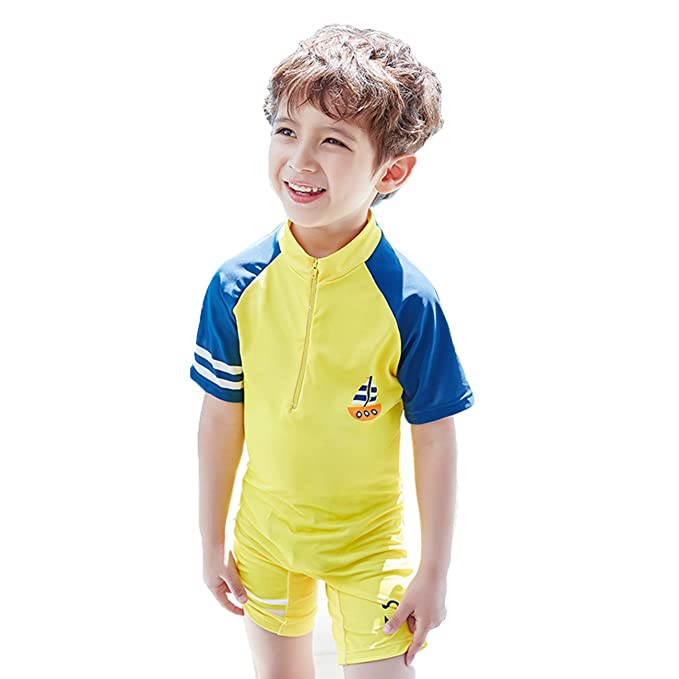 Amazon.com: Nuevo estilo Niños de traje de baño de una sola ...