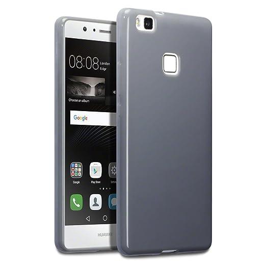 194 opinioni per Terrapin TPU Gel Custodia per Huawei P9 Lite Skin, Colore: Grigio
