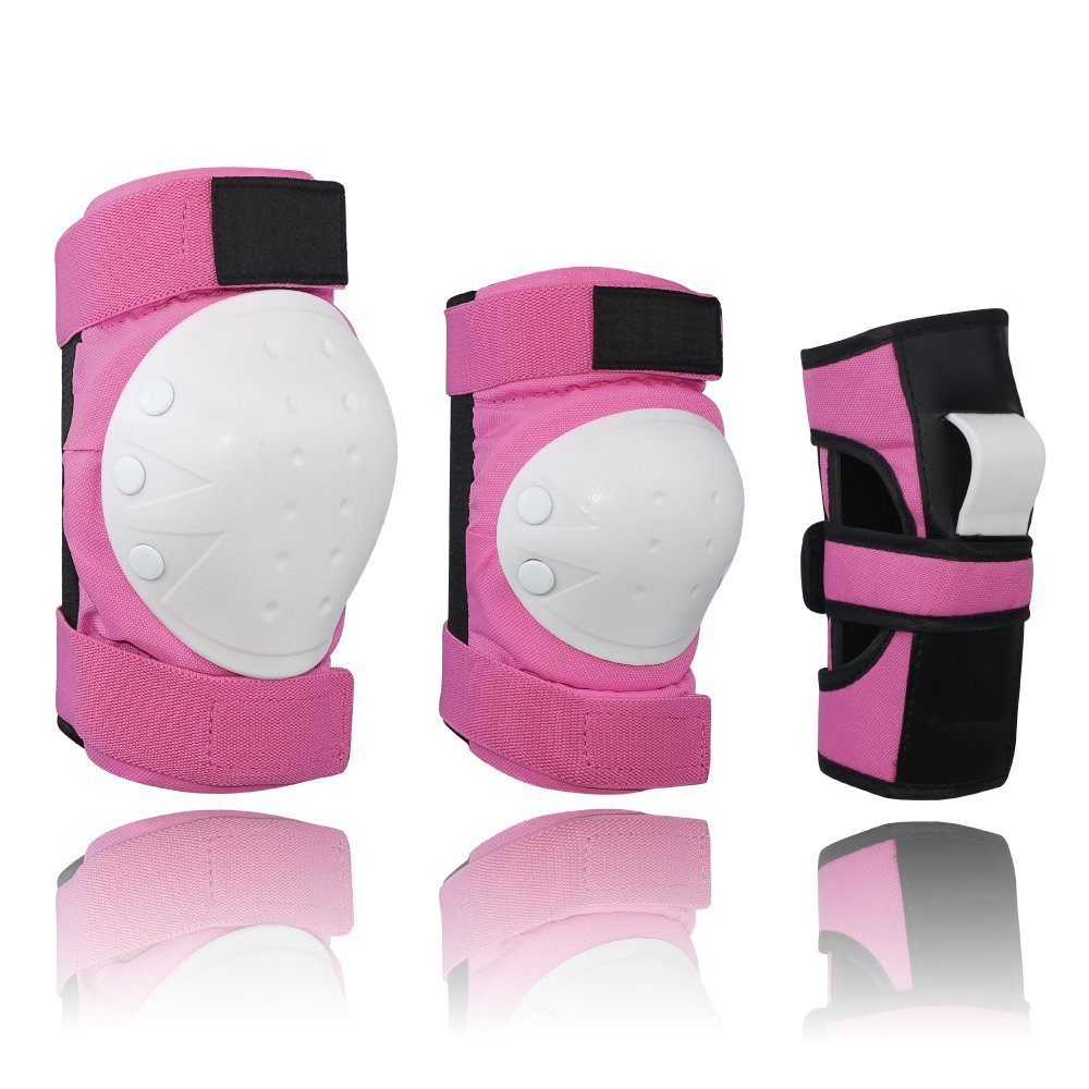 Lucky-M Adult&Kids Knee Pads Elbow Pads Wrist