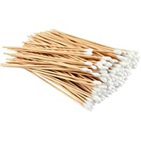 300 PCS Cotton Swabs Biodegradable Long Wood Handle Cotton Buds for Cleaning Polishing Jewelry Arts and Crafts Applying…