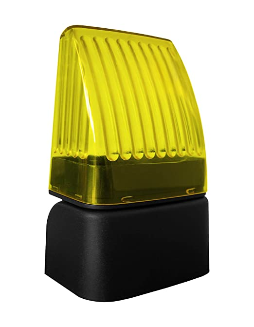16 opinioni per Lampeggiante universale lampeggiatore a LED 12- 24- 220V Nologo Snod-Led per