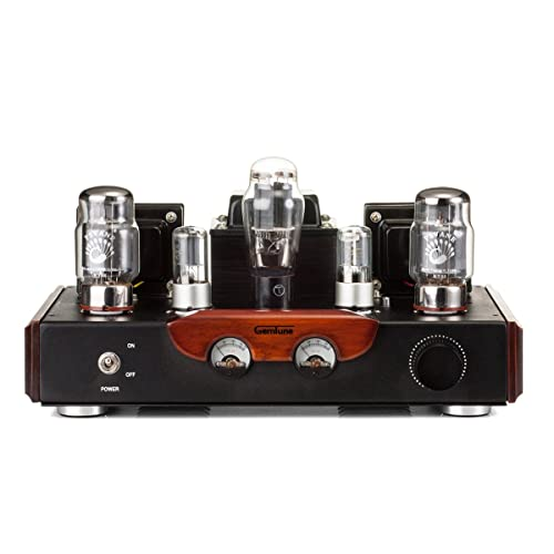 GemTune GS-02 Class A Integrated KT88 vacummTube Amplifier with KT88X2, 6N8PX2, 5Z3PX1