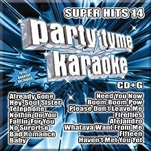 Party Tyme Karaoke - Super Hits 14 [16-song CD+G]