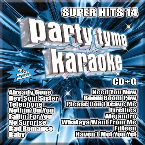 Party Tyme Karaoke - Super Hits 14 [16-song CD+G]