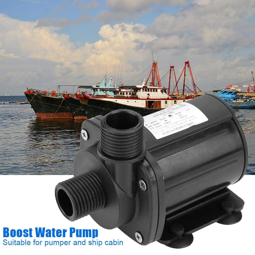 90 ℃ 20 ℃ mini pompa sommergibile dellacqua di DC 24V per la cabina della nave e del pumper Alta pompa idraulica senza spazzola capa idraulica