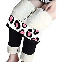 HappyShopYZ Térmicas Leggins Mujer, Cálidas de Invierno Pantalones, Polainas Gruesa Elástica Térmicos Forro Polar Mujer…