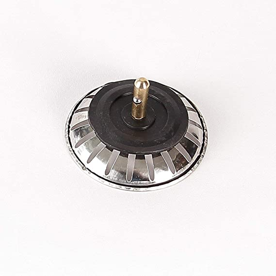 Abflusssieb Abflussstöpsel Universal Siebkörbchen mit Handbetätigung für Spüle