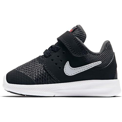 fd6fd153181 Nike - Nike Downshifter 7 Tdv Scarpe Sportive Bambino Nere Strappo - Black