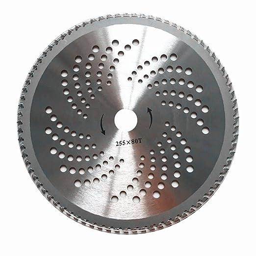 25,4 cm 80 dientes carburo Hoja de sierra circular ...