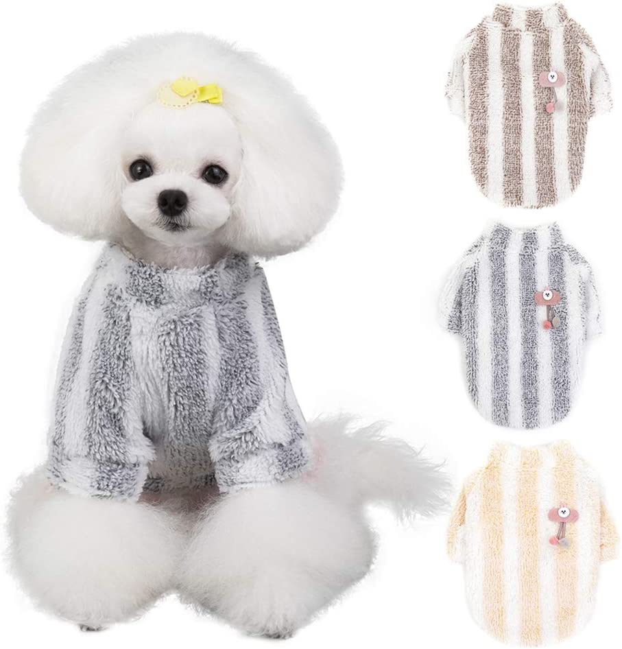 Handfly Pet Puppy Cat Dog Warm Jumper Sweater Knitwear Coat Clothes Dog Jumpers Cat Jumpers Dog Coat Winter Dog Clothes Red Yellow Blue Cat Jumper