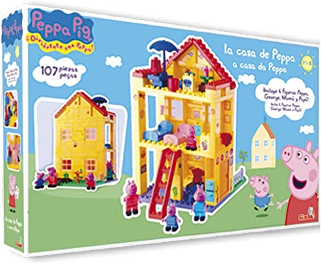 Peppa Pig - Casa (Simba 5858597): Amazon.es: Juguetes y juegos