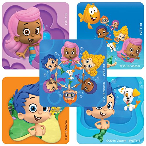 Bubble Guppies ValueStickers - Prizes 250 per Pack]()