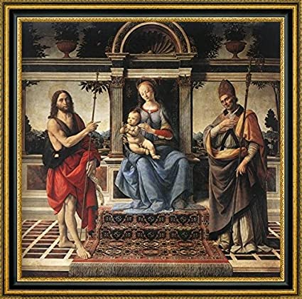 Amazon Madonna With Sts - Joh...