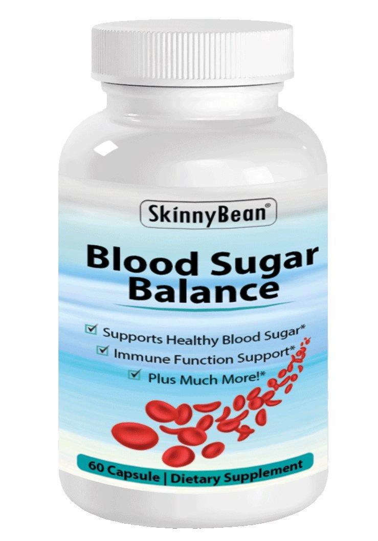 Skinny Bean® Blood Sugar Balance Supplement. Control Glucose, Insulin and Cholesterol. by Skinny Bean
