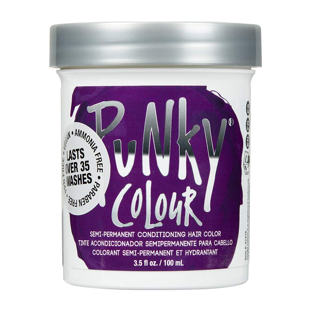 Punky Purple Semi Permanent Conditioning Hair Color