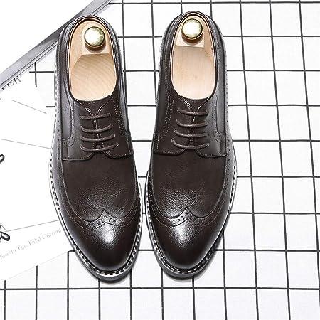 Dundun-shoes Oxford Hombre 2018, Zapatos Oxford de Moda para ...