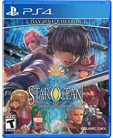 Square Enix Star Ocean: Integrity and Faithlessness, PS4 Básico PlayStation 4 Inglés vídeo - Juego (PS4, PlayStation 4, Acción / RPG, T (Teen), Soporte físico): Amazon.es: Videojuegos