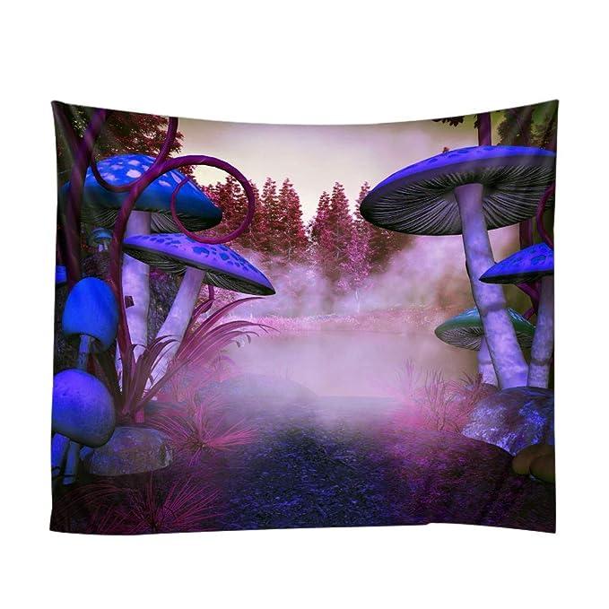 Amazon.com: pyhq HD naturaleza bosque para colgar tapices de ...