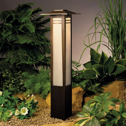 Kichler 15392OZ One Light Bollard by Kichler Lighting