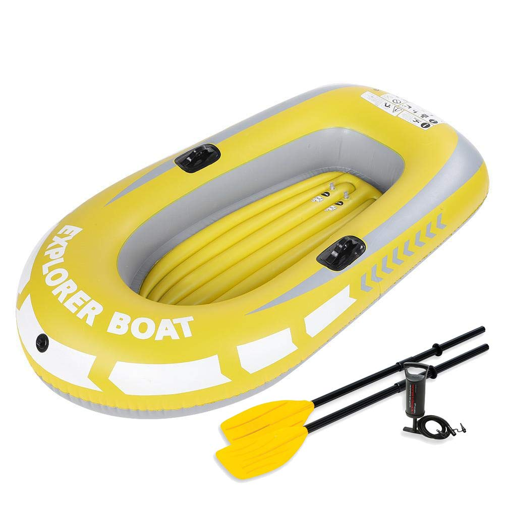 DMBHW 2 Personas Bote Salvavidas Barca Hinchable Rafting al ...