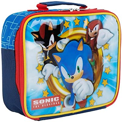 Sonic The Hedgehog Ultimate Sonic Rectangular Soft Lunch Box Amazon Co Uk Toys Games