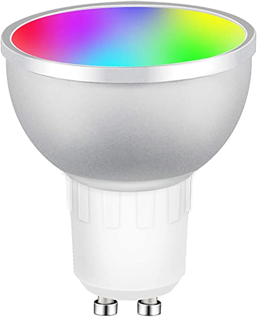 Gu10 5Way Wifi Smart LED Light Bulb Spotlight Tuya APP 4W RGBCW Alexa Google