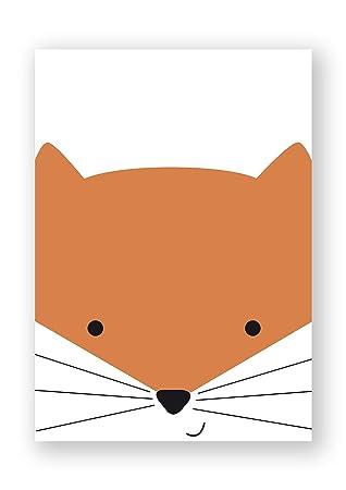 beneart® Poster Kinderzimmer Tiere für Jungen und Mädchen ...