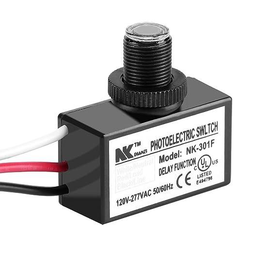 120 277v dusk to dawn sensor photoelectric switch light photocell sensor lighting switch Outdoor Photocell