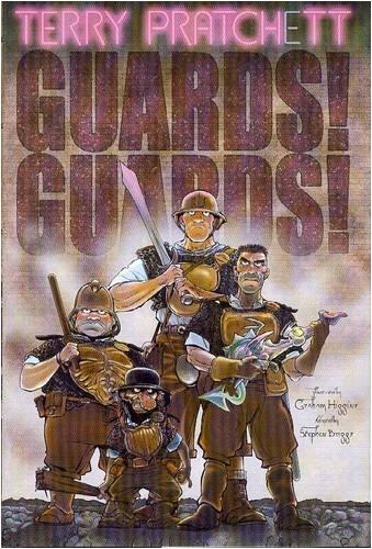 """Guards! Guards! - A Discworld Graphic Novel"" av Terry Pratchett"