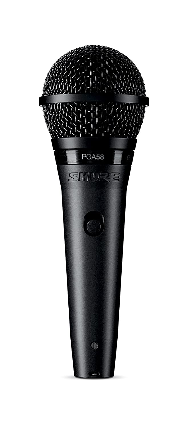 Shure PGA58-XLR Cardioid Dynamic Vocal Microphone with 15' XLR-XLR Cable Shure Incorporated
