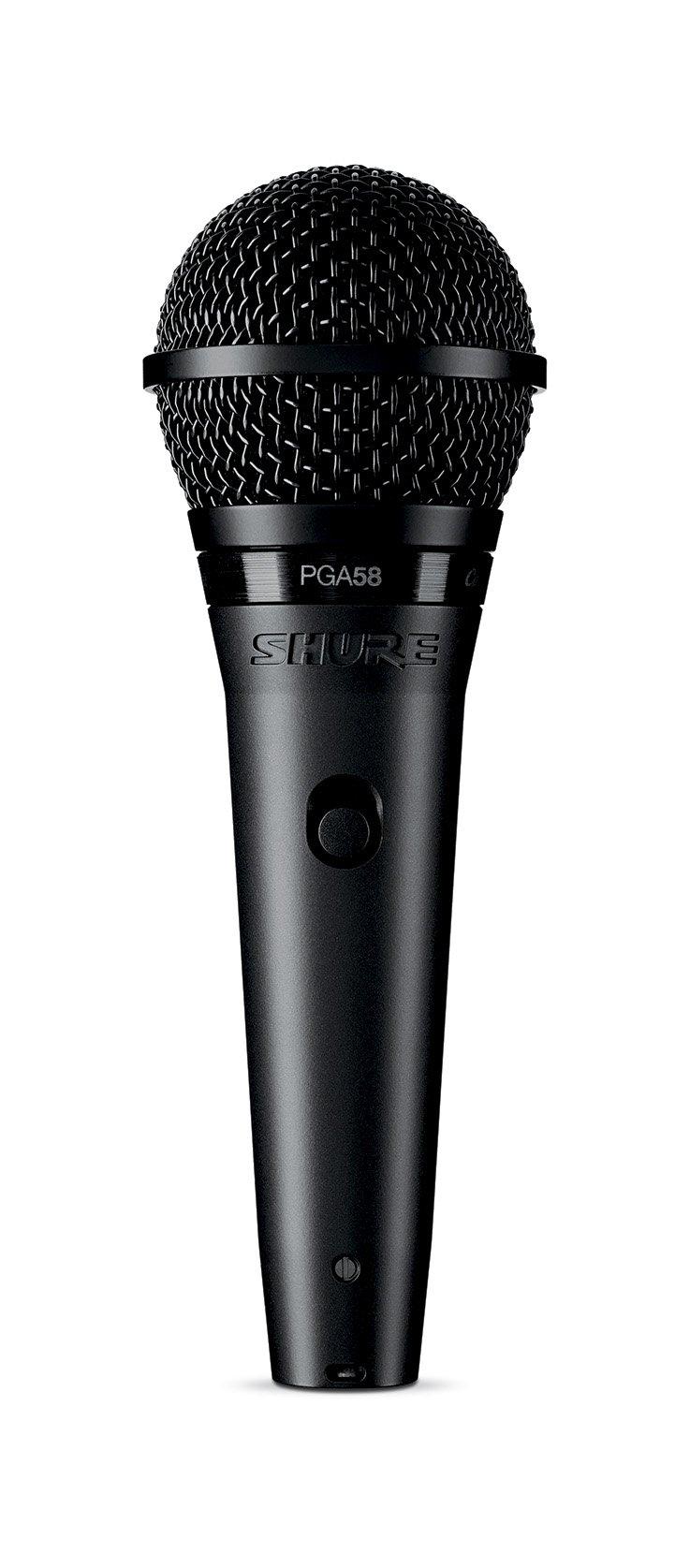 Shure PGA58-XLR Cardioid Dynamic Vocal Microphone by Shure