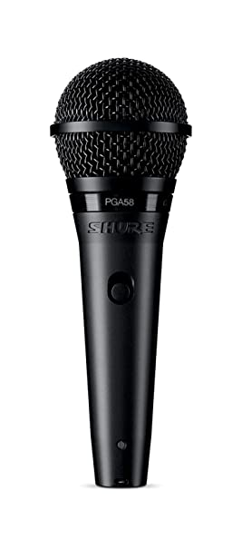 Shure PGA58-XLR - microphones (Stage/performance, 50 - 16000 Hz, XLR