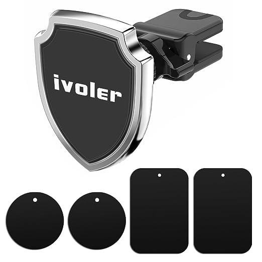 14 opinioni per iVoler Supporto Magnetico Auto (Scudo), Porta Cellulare Auto con la clip design