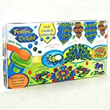 Festive Delight Quilling Kit for Diwali Decoration - Make Toran, Rangoli, Diyas, Greeting Card, Gift Box & Gift Tags
