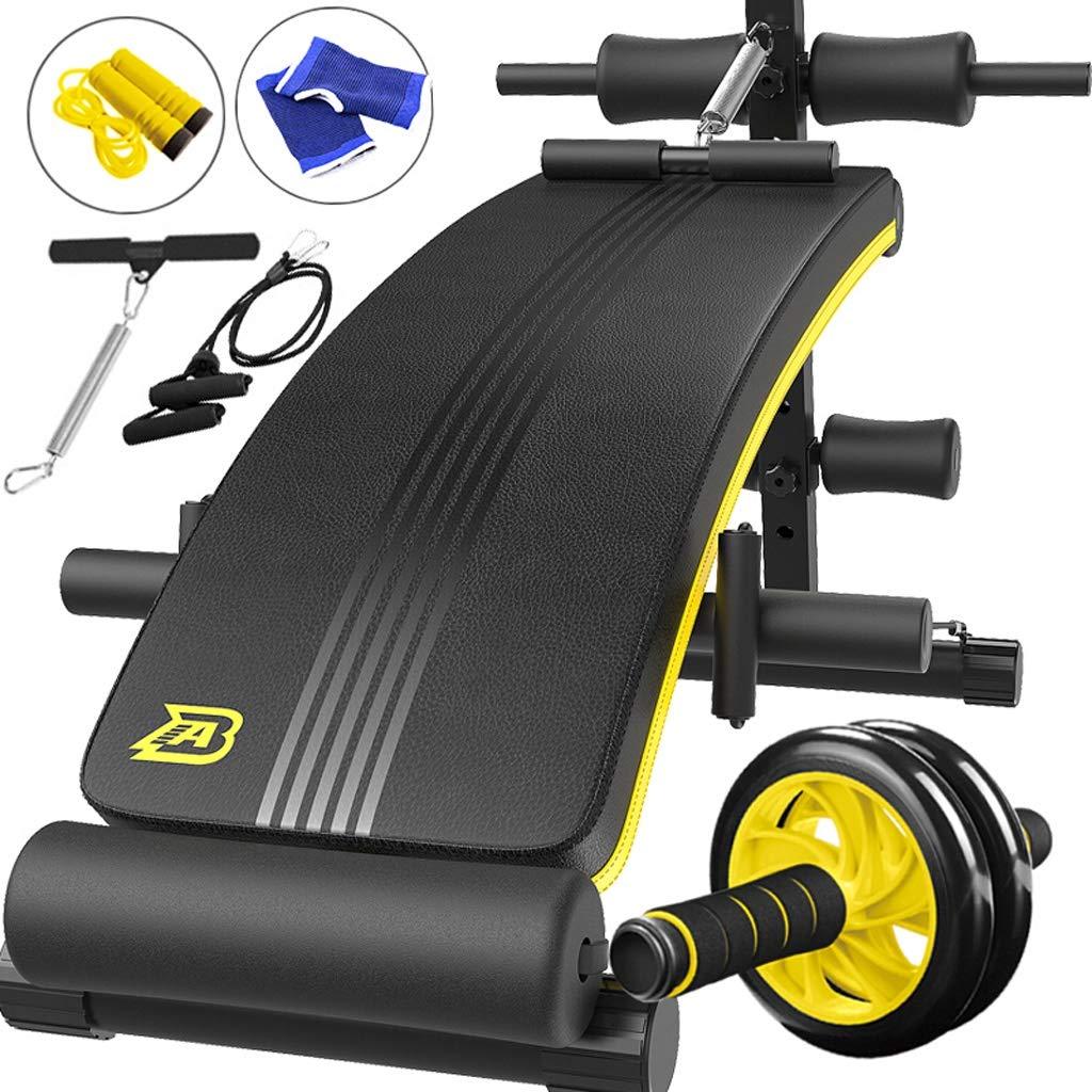 YXGH- Verstellbare Sit-up-Bank Slant Board Pro Ab, verstellbare Workout Bauch Übung Multifunktionsbank Board Sportwaren