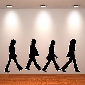 Amazon Com The Beatles Abbey Road Vinyl Decal Sticker