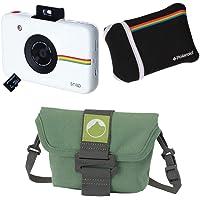 Kit Câmera instantânea Snap com filme, estojo, SD 8GB e Bolsa em material reciclado, Polaroid, Branco