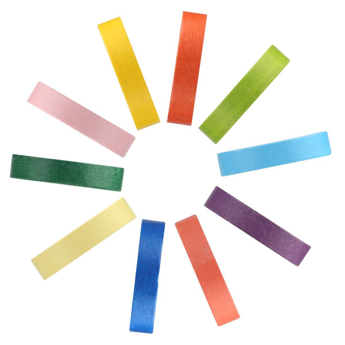 Adkwse Washi Tape Set 10 Rollen DIY Dekorative Regenbogen Klebeband Dekob/änder Aufkleber f/ür Kinder und Geschenke Verpackung Halloween Bunt10P Thanksgiving Day Weihnachten