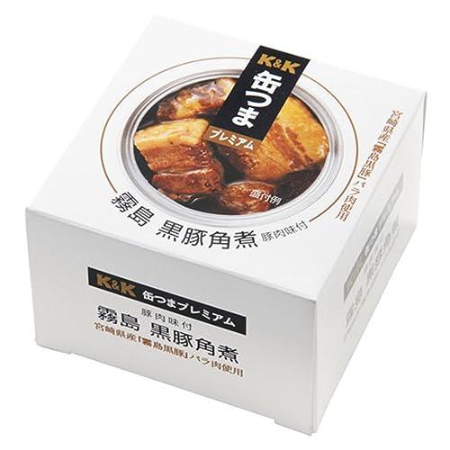 缶つまプレミアム 霧島黒豚 角煮 150g×12個[2CS]