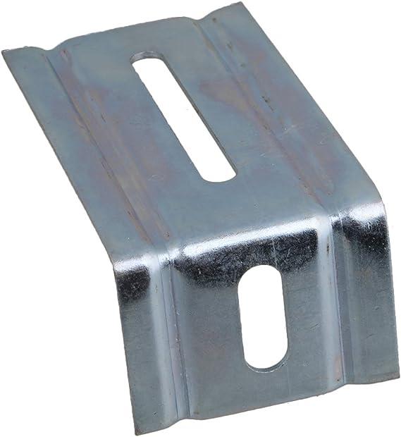 Yibuy - Guía de Suelo para Puerta corredera de Garaje (4 Unidades, 104 x 58 x 43 mm): Amazon.es: Bricolaje y herramientas