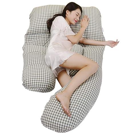 Almohada para Mujeres Embarazadas Almohada para Dormir Al ...