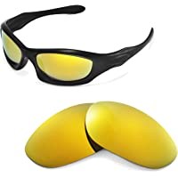 Walleva Replacement Lenses for Oakley Monster Dog Sunglasses -Multiple Options Available