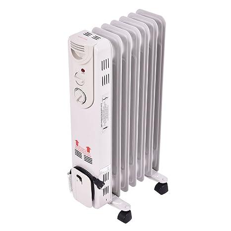 Amazon.com: COSTWAY Calentador de radiador con relleno de ...
