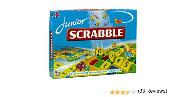 Mattel Scrabble Junior: Amazon.es: Juguetes y juegos