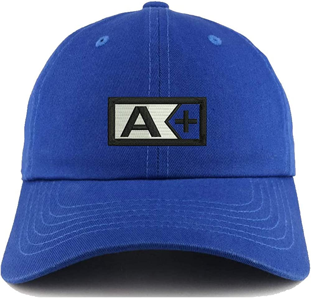 N-A Dark Blue Embroidered Hat Dad Hats Embroidery Baseball Cap Unisex USA Logo